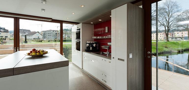 Wie verstecke ich eine Küche?   HÄFELE