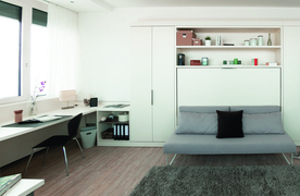 Olympia Tower Studio Apartments: Herausforderung Zeit