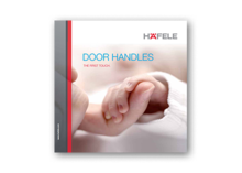 Door handles � The forst touch