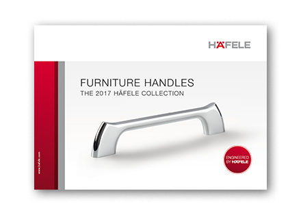 Furniture handles – The Häfele collection 2017