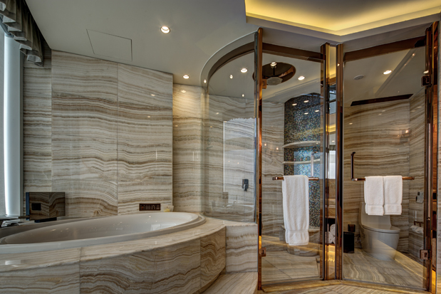 Bathroom on the Sheraton Huzhou Hot Spring Resort