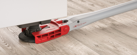 The extended arm for cabinet levelling is a particularly clever invention.