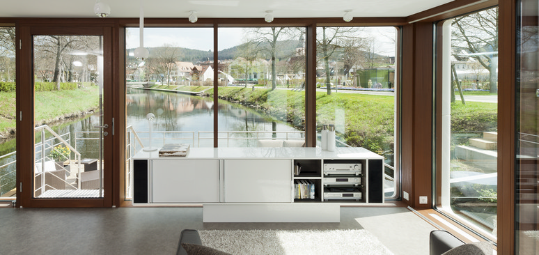 The Sideboard   Modern And Practically Floating.