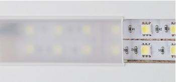 abdeckprofil f r fr snut 22 mm lichtblende f r led b nder kunststoff online bei h fele. Black Bedroom Furniture Sets. Home Design Ideas