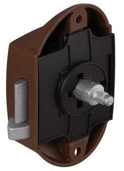 drehstangen schloss push lock dornma 25 mm einseitig. Black Bedroom Furniture Sets. Home Design Ideas