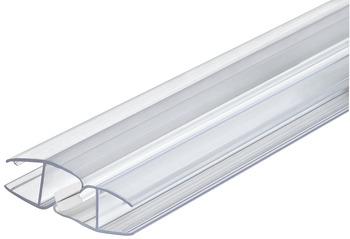 glast rdichtung magnetisch f r duschkabinen glas glas f r 180 glasfronten online bei h fele. Black Bedroom Furniture Sets. Home Design Ideas