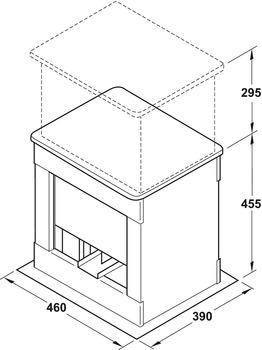 Super Hebesystem, mit elektrischer Höheneinstellung +295 mm | online bei SC59