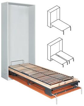 klappbett beschlag bettlift zum einbau l ngs einzel doppel oder franz sisches bett im. Black Bedroom Furniture Sets. Home Design Ideas
