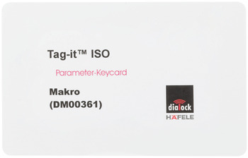 Makro-Key-Card, Häfele Dialock Alarm-Off-Key