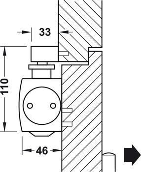 obent rschlie er geze ts 5000 l ecline normalmontage. Black Bedroom Furniture Sets. Home Design Ideas