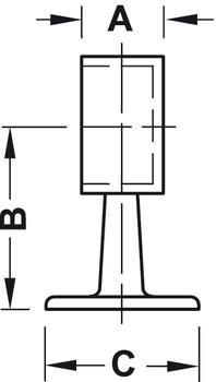 Rohrendhalter, Rohrsteck-System