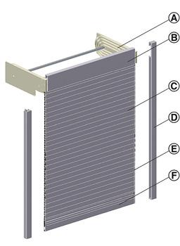 Rollladen, Standard, Variante A3-Modul | online bei HÄFELE