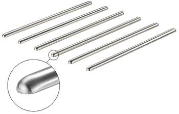 Schutzstäbe, gerade, Maße 13 x 7 mm (B x H)