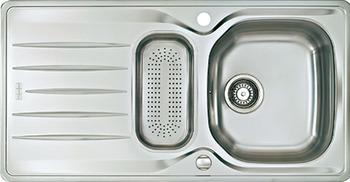 sp le edelstahl franke libera lix 651 abtropfbecken online bei h fele. Black Bedroom Furniture Sets. Home Design Ideas