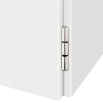Topfscharnier, Eck-/Mittelanschlag, für überfälzte Türen