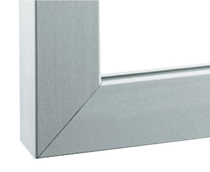 aluminium glasrahmenprofil 23 26 38 x 14 mm online bei. Black Bedroom Furniture Sets. Home Design Ideas