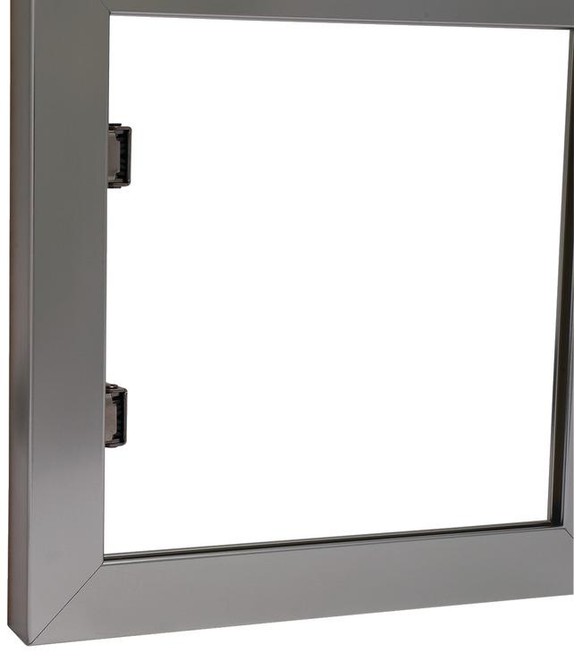 aluminium glasrahmenprofil 23 26 38 x 14 mm im h fele. Black Bedroom Furniture Sets. Home Design Ideas