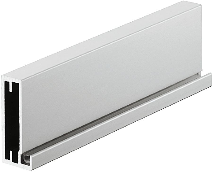 Aluminiumrahmen mit Glasfüllung, Topco | online bei HÄFELE