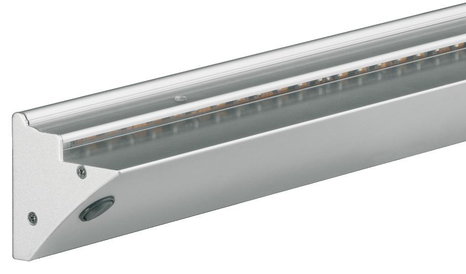 anbauleuchte glasregal beleuchtet led 2006 aluminium 12 v online bei h fele. Black Bedroom Furniture Sets. Home Design Ideas