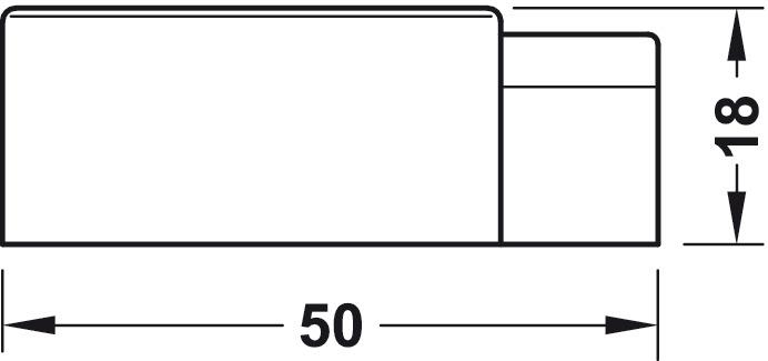 bodent rpuffer zinkdruckguss zum schrauben oder kleben wechsel hart weich online bei h fele. Black Bedroom Furniture Sets. Home Design Ideas