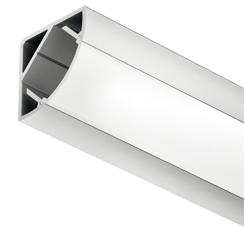 eckprofil h fele loox aluminium online bei h fele. Black Bedroom Furniture Sets. Home Design Ideas