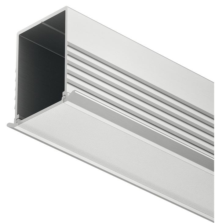 einbauprofil h fele loox 24 mm tiefe aluminium online. Black Bedroom Furniture Sets. Home Design Ideas