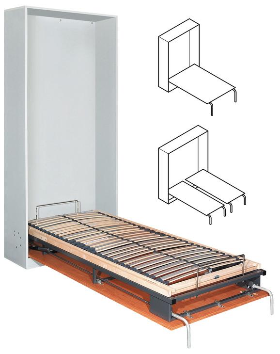 klappbett beschlag bettlift zum einbau l ngs einzel doppel oder franz sisches bett. Black Bedroom Furniture Sets. Home Design Ideas