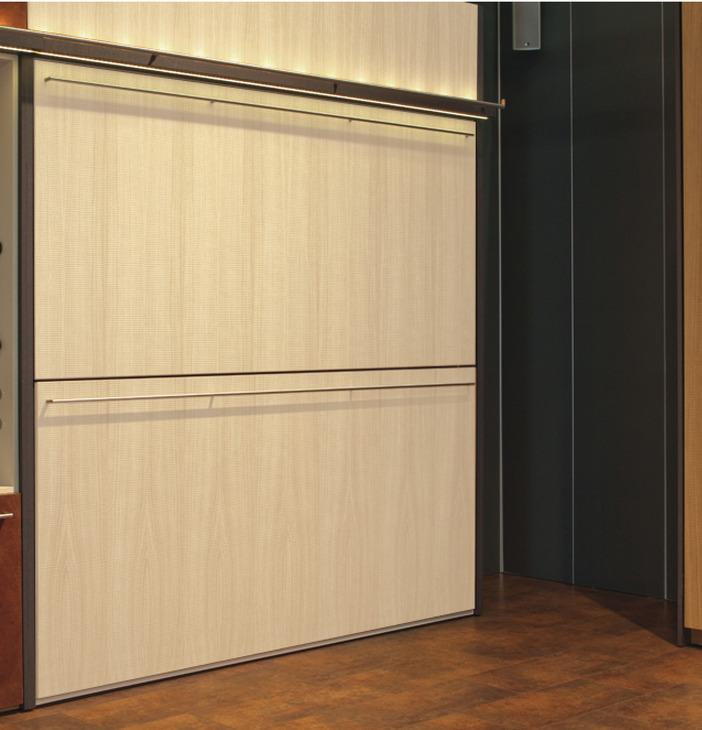 schrankwand mit klappbett awesome klappbett mit regal und. Black Bedroom Furniture Sets. Home Design Ideas
