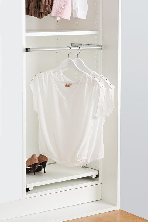 Kleiderstange, ausziehbar | online bei HÄFELE
