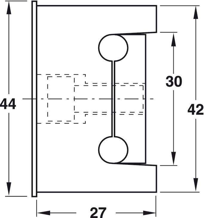 Simonswerk VARIANT-Klemmblock V 3604 verzinkt