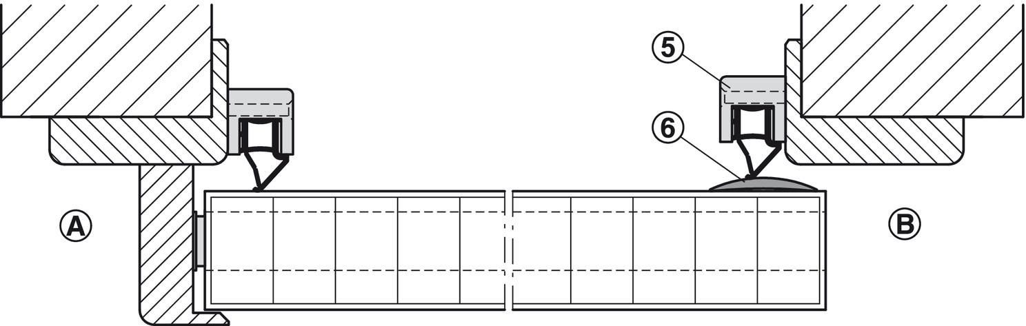 Bevorzugt Komplett-Dichtungssystem, Athmer | online bei HÄFELE HY75