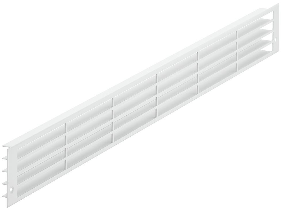 l ftungsgitter eckig aluminium nach hinten verlaufende lamellen online bei h fele. Black Bedroom Furniture Sets. Home Design Ideas