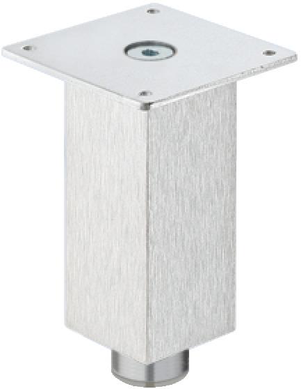 Mobelfuss Mit Hoheneinstellung Mit Platte Aluminium Online Bei