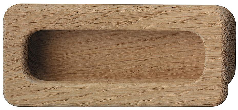 muschelgriff aus holz rechteckig im h fele deutschland shop. Black Bedroom Furniture Sets. Home Design Ideas