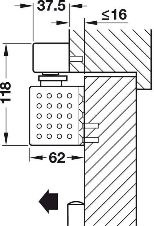 obent rschlie er dorma ts 93 b gsr im contur design mit. Black Bedroom Furniture Sets. Home Design Ideas