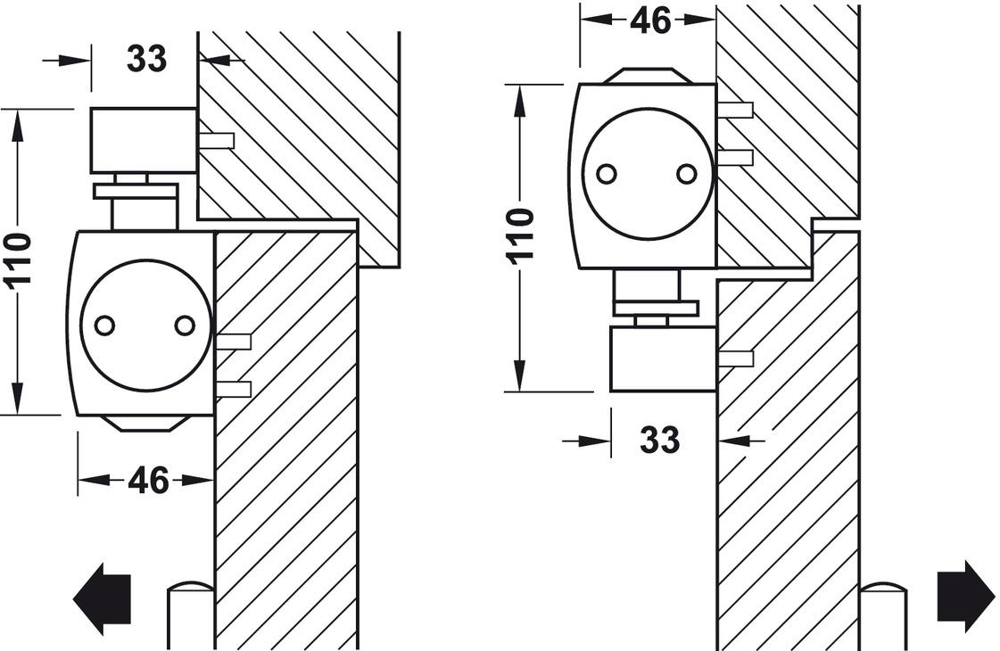 obent rschlie er geze ts 5000 ecline normalmontage bandseite en 3 5 online bei h fele. Black Bedroom Furniture Sets. Home Design Ideas