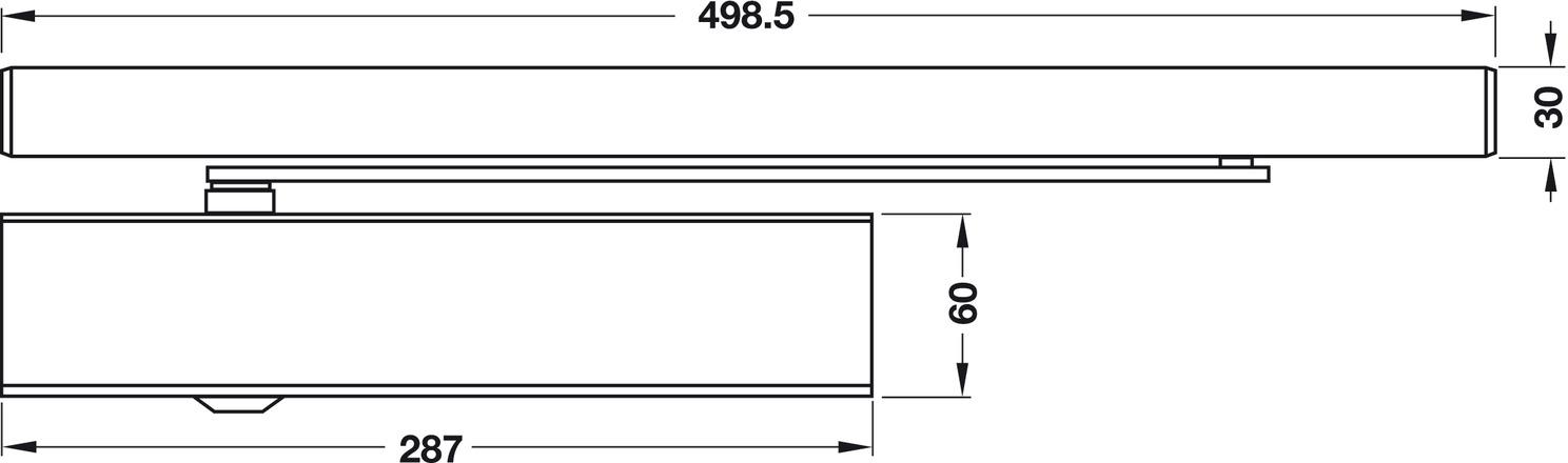 obent rschlie er geze ts 5000 l e mit elektromechanischer feststellung normalmontage. Black Bedroom Furniture Sets. Home Design Ideas