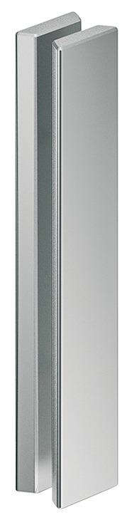 schiebet r muschelgriffe griff beidseitig aluminium f r. Black Bedroom Furniture Sets. Home Design Ideas