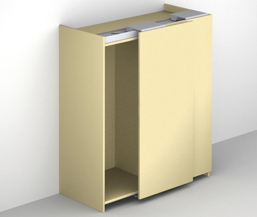 schiebet rbeschlag finetta flatfront m 35 fb standard. Black Bedroom Furniture Sets. Home Design Ideas