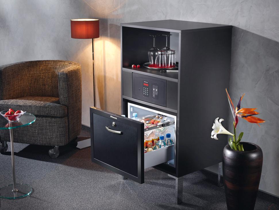 Minibar Kühlschrank Schublade : Schubladen minibar thermoelektrisch dm liter online bei