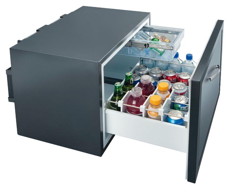 Schubladen minibar thermoelektrisch dm 50 45 liter im - Minibar wohnzimmer ...