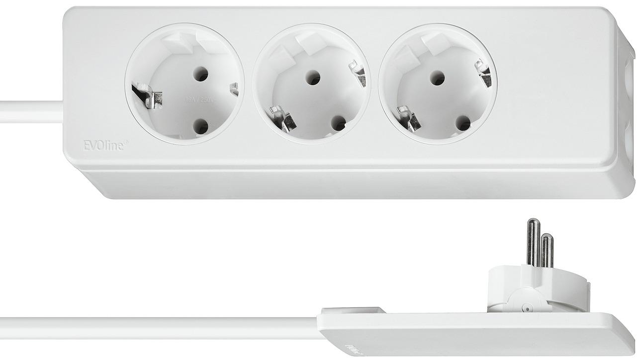 schutzkontaktstecker extra flach 230 v online bei h fele. Black Bedroom Furniture Sets. Home Design Ideas