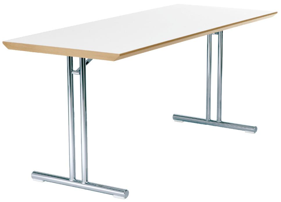 stahlrohr klapptisch mit tischplatte aus stahl im h fele deutschland shop. Black Bedroom Furniture Sets. Home Design Ideas