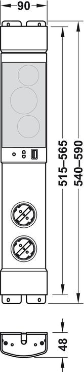 steckdosen element kombi 230 v mit usb ladestation und bluetooth lautsprecher online bei. Black Bedroom Furniture Sets. Home Design Ideas