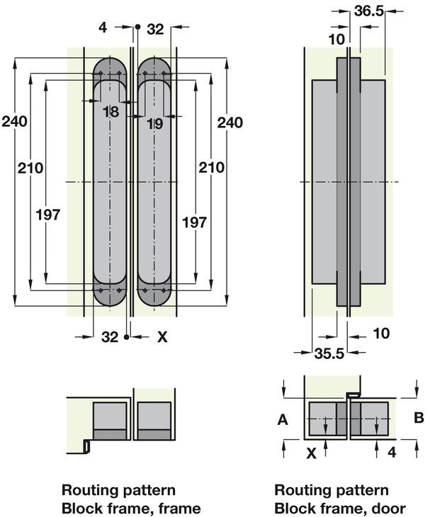 t rband simonswerk tectus te 640 3d f r ungef lzte t ren. Black Bedroom Furniture Sets. Home Design Ideas