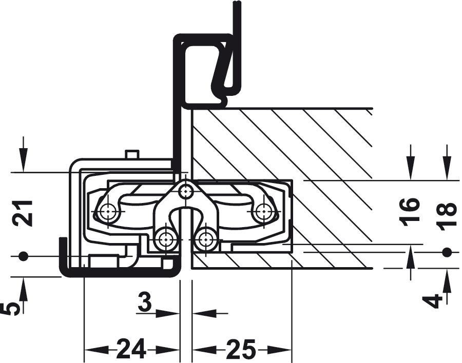 t rband tectus te 240 3d simonswerk f r ungef lzte t ren bis 40 kg im h fele deutschland shop. Black Bedroom Furniture Sets. Home Design Ideas