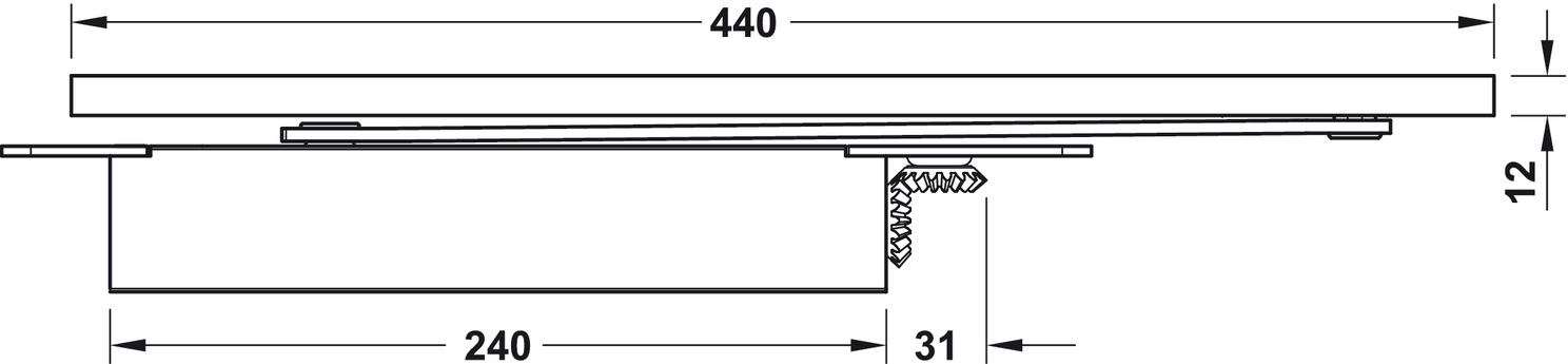 t rschlie er startec dcl 97 verdeckt liegend en 3 5 online bei h fele. Black Bedroom Furniture Sets. Home Design Ideas