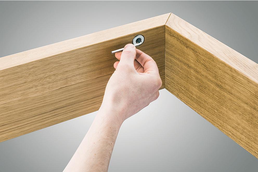 winkeld bel f r wieder l sbare gehrungsverbindungen im. Black Bedroom Furniture Sets. Home Design Ideas