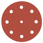 Abrasive discs, Ø 125 mm, Awuko, with Velcro and 9 holes, for wood product photo