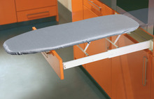 Ironing board, Ironfix, Installation behind drawer front panel product photo